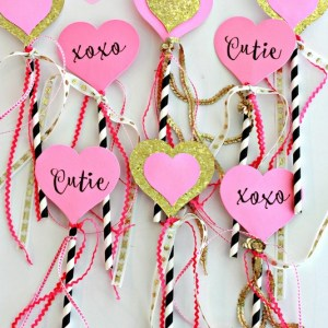 Valentine Fairy Wands
