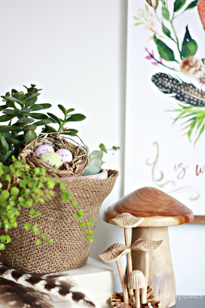 How to create a Spring Vignette