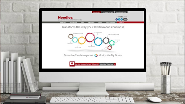 picture of needles website