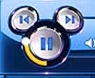 micky mouse logo in disney netpal laptop