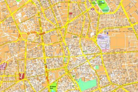 Map Riyadh - Riyadh map