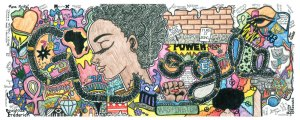 African American Heritage showcase by 10th grader got selected as Doodle 4 Google