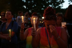 We're still with you Orlando Shooting Victims- Over 50,000 gathered to convey this!