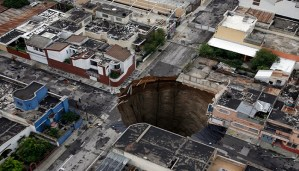 Here are some of the most frightening disasters caused by sinkholes!!!