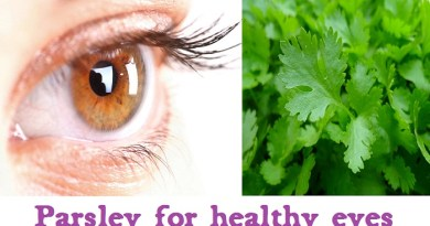 Protect your eyes from different eye problems with the help of Parsley