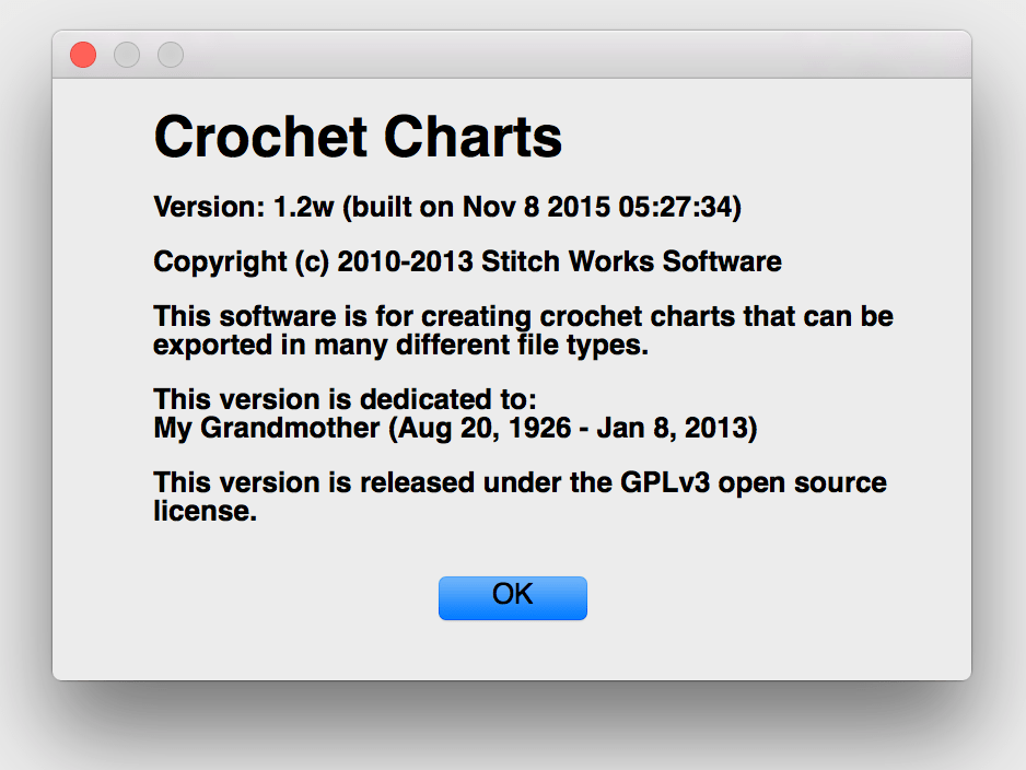 Crochet Charts Software - Where to Get?