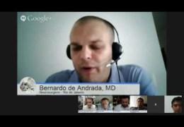 "Bernardo de Andrada MD, Neurosurgeon from Rio de Janeiro, talks about ""Surgical Treatment of Cervical Cord Injuries"""