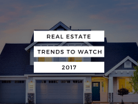 Real Estate Trends to Watch 2017