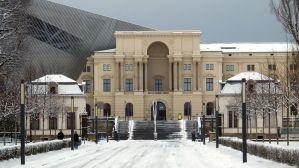 Militärhistorisches Museum im Schnee