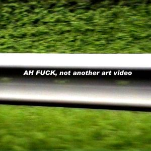 AH Fuck, not another Art Video