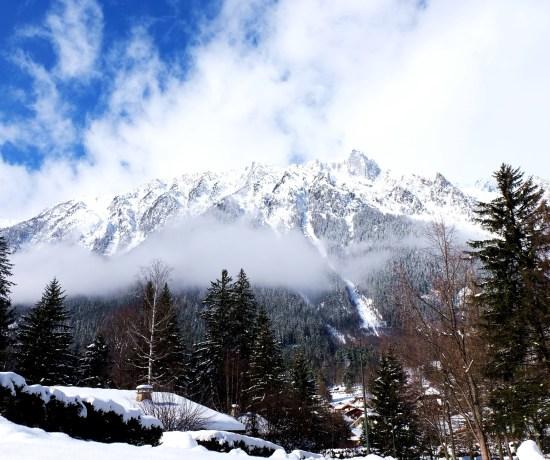 Mountains around Chamonix, France