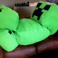 Life Size Creeper Plush