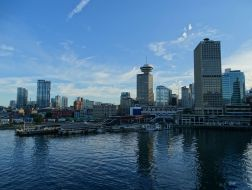 Blick vom Canada Place
