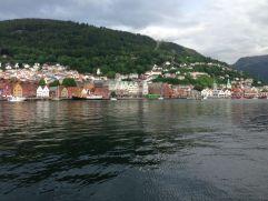 Blick auf die Bryggen
