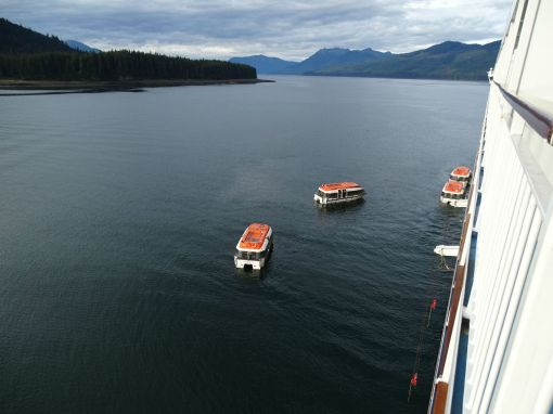 Tendern Icy Strait Point