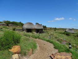 Kwena-Hütten