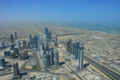 Blick zum Burj Al Arab