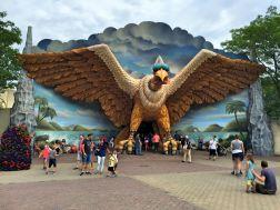 Vogel Rok im Efteling Freizeitpark