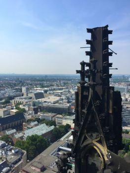 Ausblick vom Kölner Dom
