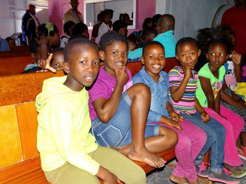 Die Kinder im Township Khayelitsha