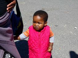 Kind im Township Khayelitsha