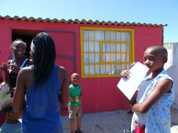 Kinder im Township Khayelitsha