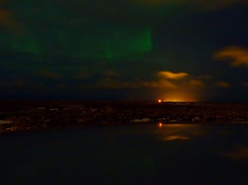 Nordlichter auf Island