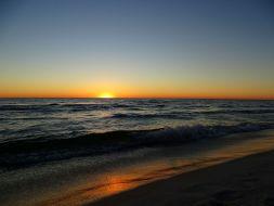 Sonnenuntergang in Panama City Beach