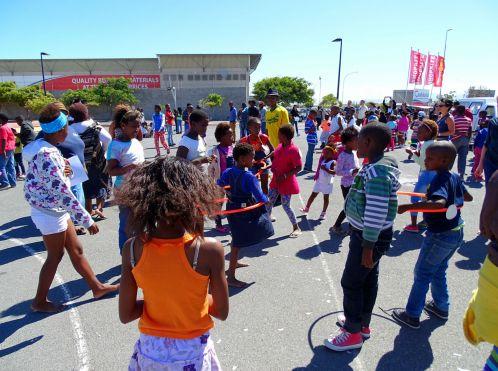 Sportfest im Township Khayelitsha