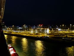 Abfahrt von Southampton