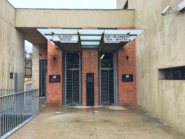 Eintritt zum Apartheid Museum, Joburg