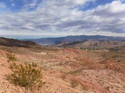 Ziplining in der Mojave-Wüste