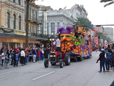 Festumzug in New Orleans