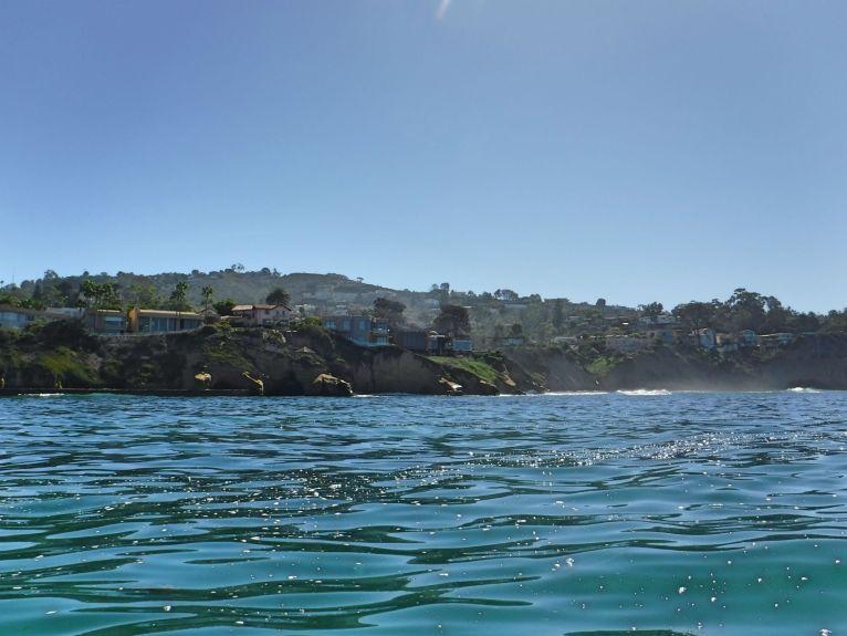 La Jolla vom Wasser aus