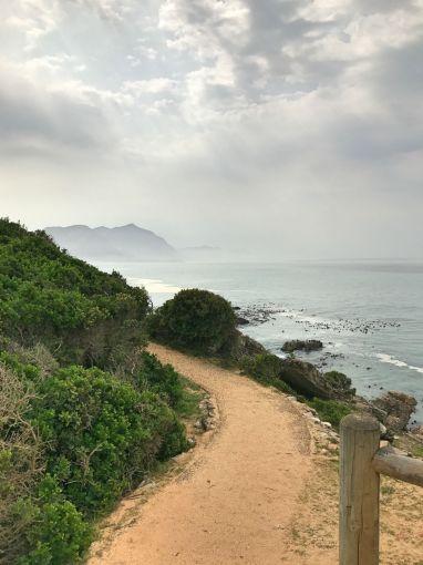 Beginn des Cliff Paths am Neuen Hafen