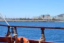 Blick auf die Waterfront