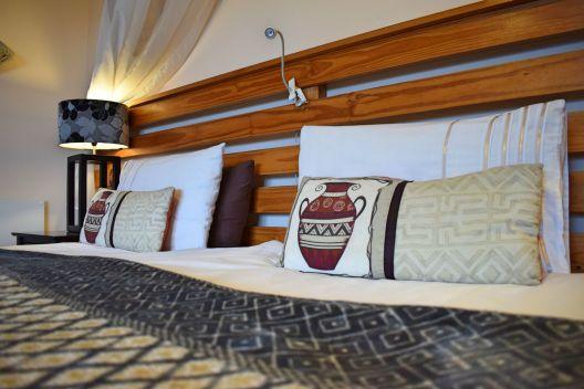 Unser Zimmer in der Panorama Lodge