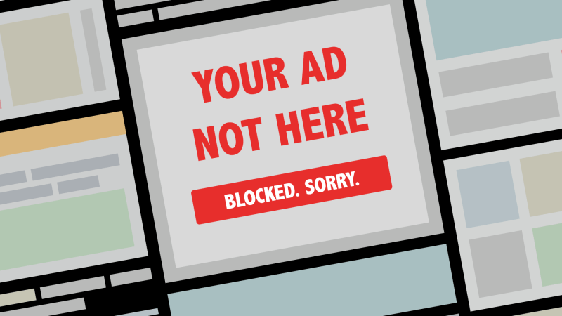 Ad blocked