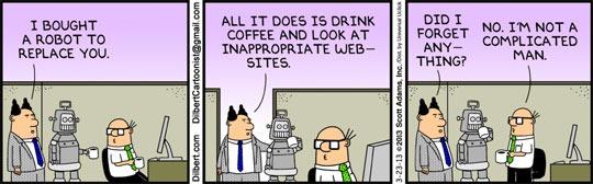 I bought a robot...