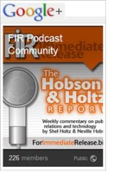 FIR Podcast Community on Google+
