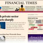 On a digital roll at the FT
