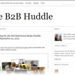 The B2B Huddle on the social web