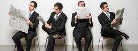 menreadingnewspapers