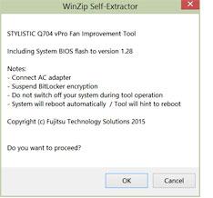 Fan improvement tool update