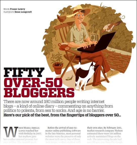 50 Over-50 Bloggers
