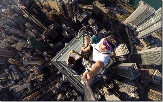 Rooftop selfie...