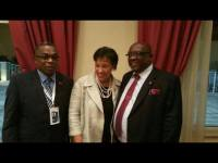Baronness Scotland, PM Harris and Minister Ian Liburd