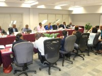2016 Budget Estimates Committee meetings taking place at the Ministry of Finance Building