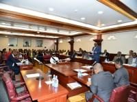 PM Harris Delivering Budget Address_121515