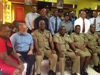 Inspectors and Acting Inspectors with members of High Command